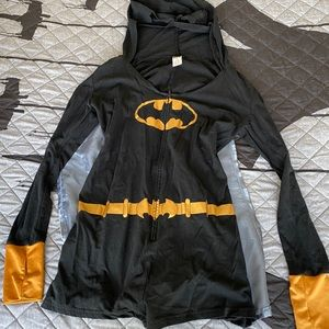 Batman Short Onesie Size Large Worn once